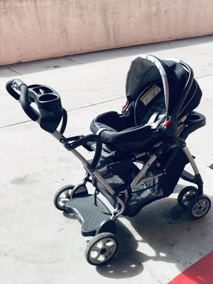 Graco stand up double stroller travel system for Sale in Downey, CA