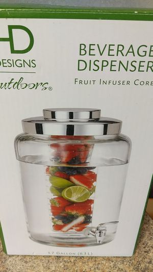 Beverage Dispenser - Fruit Infuser Core for Sale in Wichita, KS
