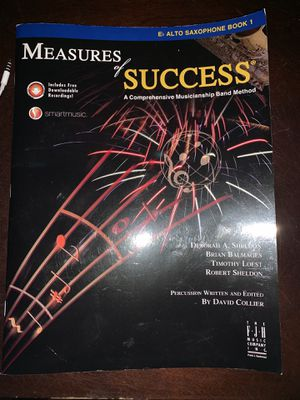 Measures of success for alto saxophone for Sale in Lake Grove, OR