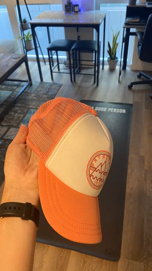 Women's Pink & White Patagonia Hat for Sale in Seattle, WA