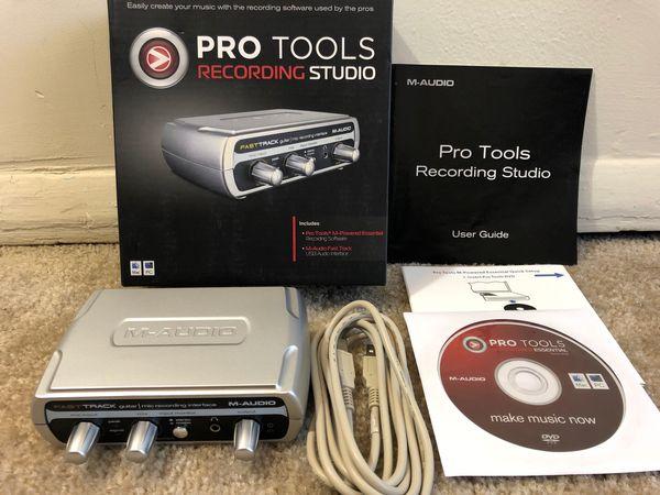 M-audio pro tools recording studio