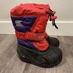 Kids' Sorel Snow Boots Child Size 7 for Sale in Vancouver, WA