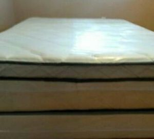 Queen size new thick pillow top bed can deliver for Sale in Pinellas Park, FL