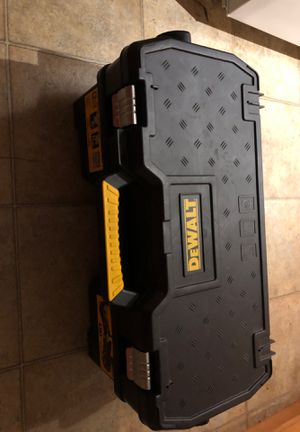 DeWalt toolbox w/ nuts and bolts can and a 1992 case fine XX w/ free belt case for Sale in Nashville, TN