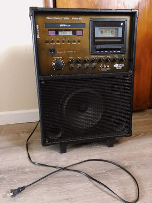 PYLE Pro Audio PA System PWMA-830 for Sale in Camden, NJ