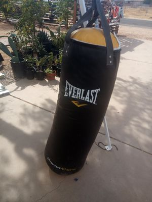 Everlast punching bag for Sale in Apple Valley, CA