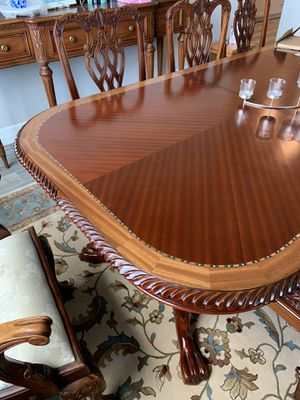 9 piece cherry dining room set for Sale in Brewster, NY