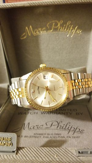 DESIGNER MARC PHILIPPE VINTAGE DIAMOND WATCH COMBO for Sale in West Springfield, VA