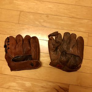 Two Split Finger Baseball Gloves for Sale in Herndon, VA