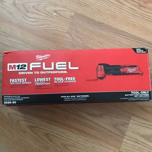 Milwaukee M12 Multi Tool Read Profile for Sale in Stamford, CT