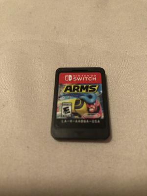 Arms for Nintendo Switch for Sale in Charlotte, NC