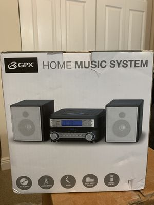 Compact CD Player Stereo Home Music System with AM/FM Tuner - HC221B for Sale in Miami, FL