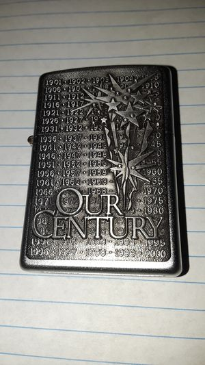Zippo Our Century Lighter for Sale in Frederick, MD