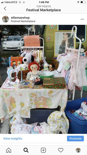 Vintage flea market Saturday tmw kids clothing Pyrex etc for Sale in Coconut Creek, FL
