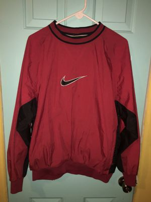 Vintage red nike jacket for Sale in Stockton, CA