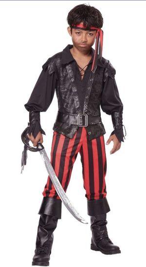 Kids California Costumes Briny Buccaneer Pirate Halloween Costume Medium 8-10 for Sale in Las Vegas, NV