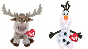 Ty beanie babies Disney Frozen toys x2 for Sale in Hawthorne, CA