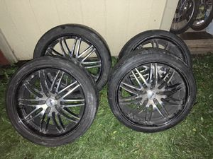 """20"""" Racing rims for Sale in Seattle, WA"""