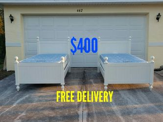 Twin Size Beds 🚛FREE DELIVERY🚛 for Sale in Lehigh Acres,  FL