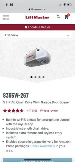 Liftmaster Garage Door Opener for Sale in Lowell, MA