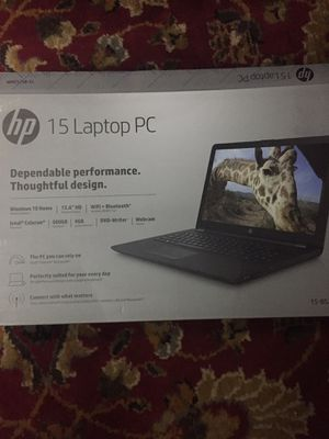 Intel Celeron HP 15 laptop for Sale in Baltimore, MD