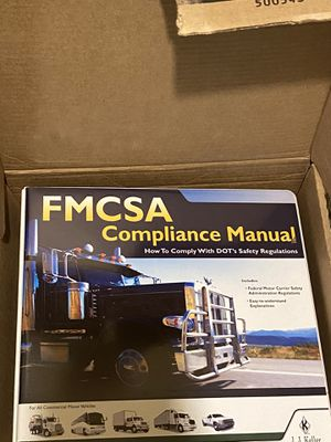 JJ Keller's compliance manual for Sale in Caney, KS