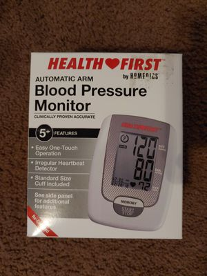 Health First by HoMedics automatic arm blood pressure monitor for Sale in Torrance, CA