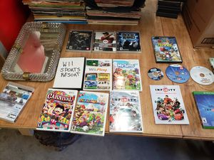 Video games xbox360, wii, ps3, Disney infinity for Sale in Parma, OH