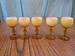Vintage rare miniature glass goblets for Sale in San Pablo, CA