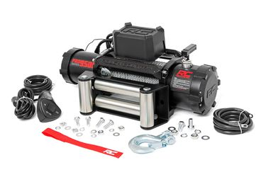Rough Country 12000lb Electric Winch Steel Cable - Pro Series Steel Cable Electric Winch for Sale in Anaheim,  CA