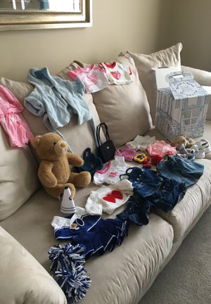 Build A Bear and accessories for Sale in Pittsburgh, PA