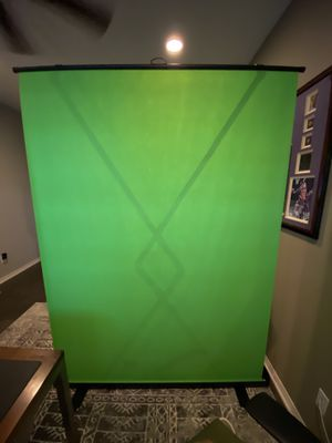(BRAND NEW) $155 Collapsible Chroma Key Green Screen Panel for Background Removal for Sale in Chino, CA