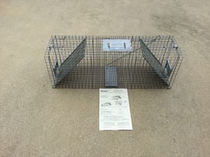 HAVAHEART Live Animal Trap and 50' fencing for Sale in Sebastian, FL