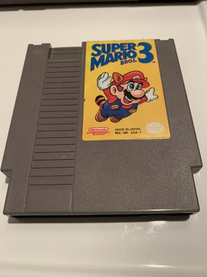 Super Mario Bros. 3 (Nintendo Entertainment System, 1990) Tested Works for Sale in Chula Vista, CA