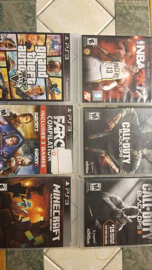 Authentic PS3 Games for Sale in Abilene, TX