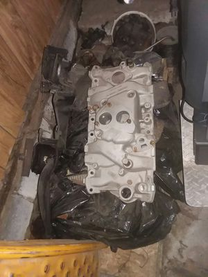Chevy 350 carb manifold for Sale in SeaTac, WA