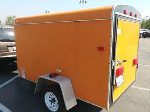Trailers Plus Victory 5x8 cargo trailer, new tires, sand shoe, $1750 FIRM! for Sale in Port Orchard, WA