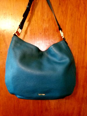 Beautiful Calvin Klein Leather Purse With Matching Leather Wallet NWT Anne Klein for Sale in Virginia Beach, VA