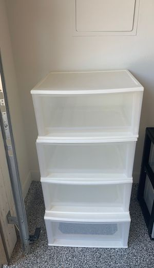 Plastic Drawer storage 4 for Sale in Mesa, AZ