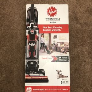 NEW HOOVER WINDTUNNEL 3 High Performance Pet for Sale in Chesapeake, VA