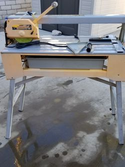 """7"""" Tile Saw - 1.5 HP With Stand for Sale in Las Vegas,  NV"""