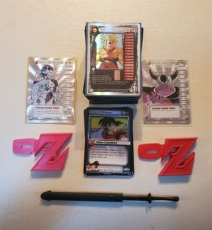 Dragonball Z card lot promos, hologram and rares included for Sale in Spring Hill, FL