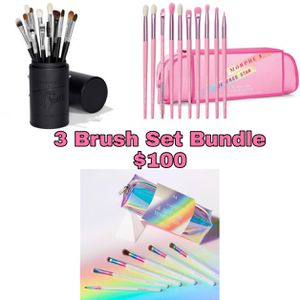 Makeup Brush Set Bundle $100 for Sale in Riverside, CA