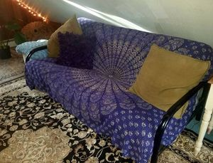 Futon with Great Mattress for Back Support for Sale in Arvada, CO