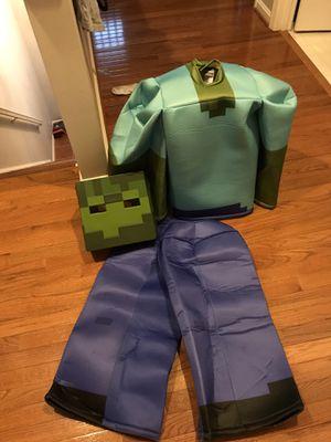 GRAB IT Minecraft Prestige Zombie Halloween Costume for Kids for Sale in Bristow, VA