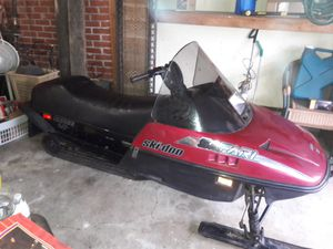 Ski-doo Snowmobile with Trailer for Sale in Beaverton, OR