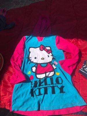 Girls hello kitty pj grown for Sale in Fresno, CA