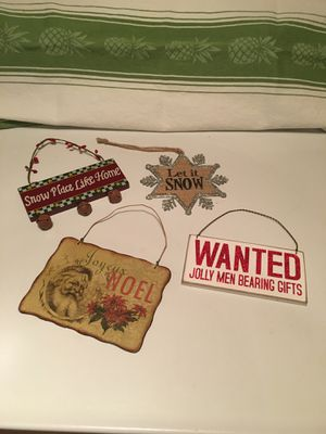 Christmas signs for Sale in Puyallup, WA