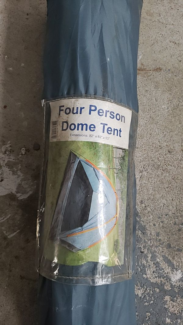 Dome tent with Carry Along Bag