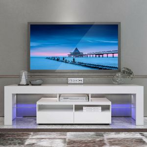 Brand new TV stand entertainment center wall unit with L.E.D lights for Sale in Fort Lauderdale, FL